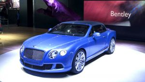 Bentley behang