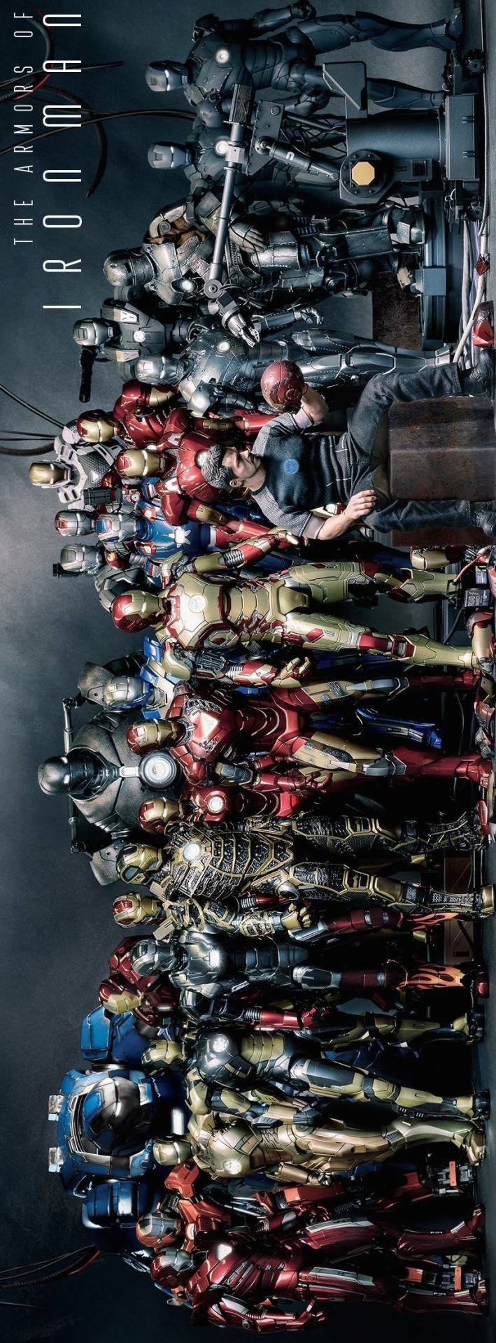 bearna-The-Many-Armors-of-Iron-Man-wallpaper-wp3003528