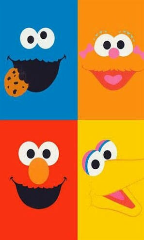 Bfddcdfaaebddad Sesame Street Party Birthday Wallpaper Wp4404749