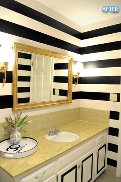 black-white-striped-walls-gold-mirror-chanel-tray-I-would-do-a-differant-vanity-cause-that-d-wallpaper-wp6002382