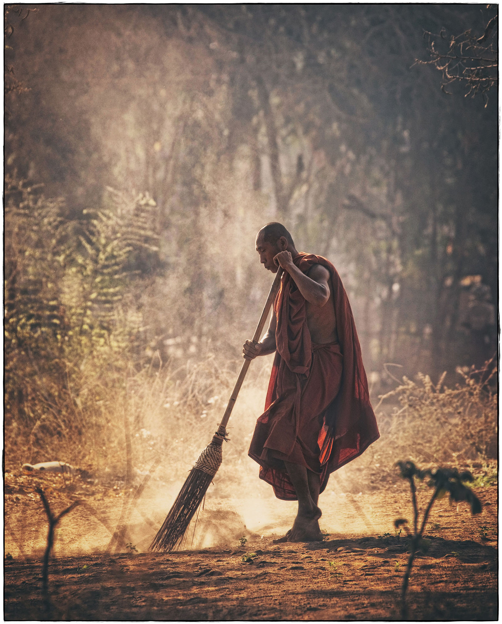 buddhist-monk-sweeping-buddhist-buddhism-monk-wallpaper-wp3003997