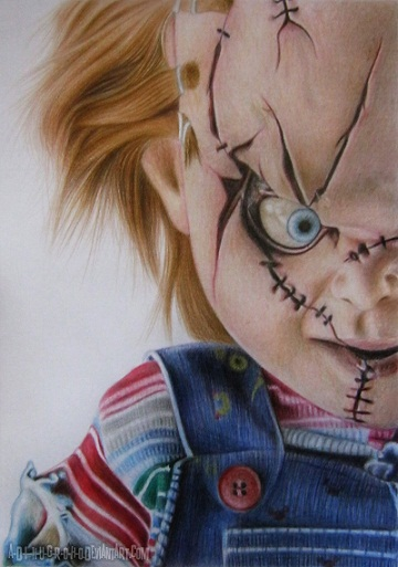 Scary mobile wallpaper downloadwallpaper curse of chucky by a d i n u g r o h o deviantart com on voltagebd Choice Image
