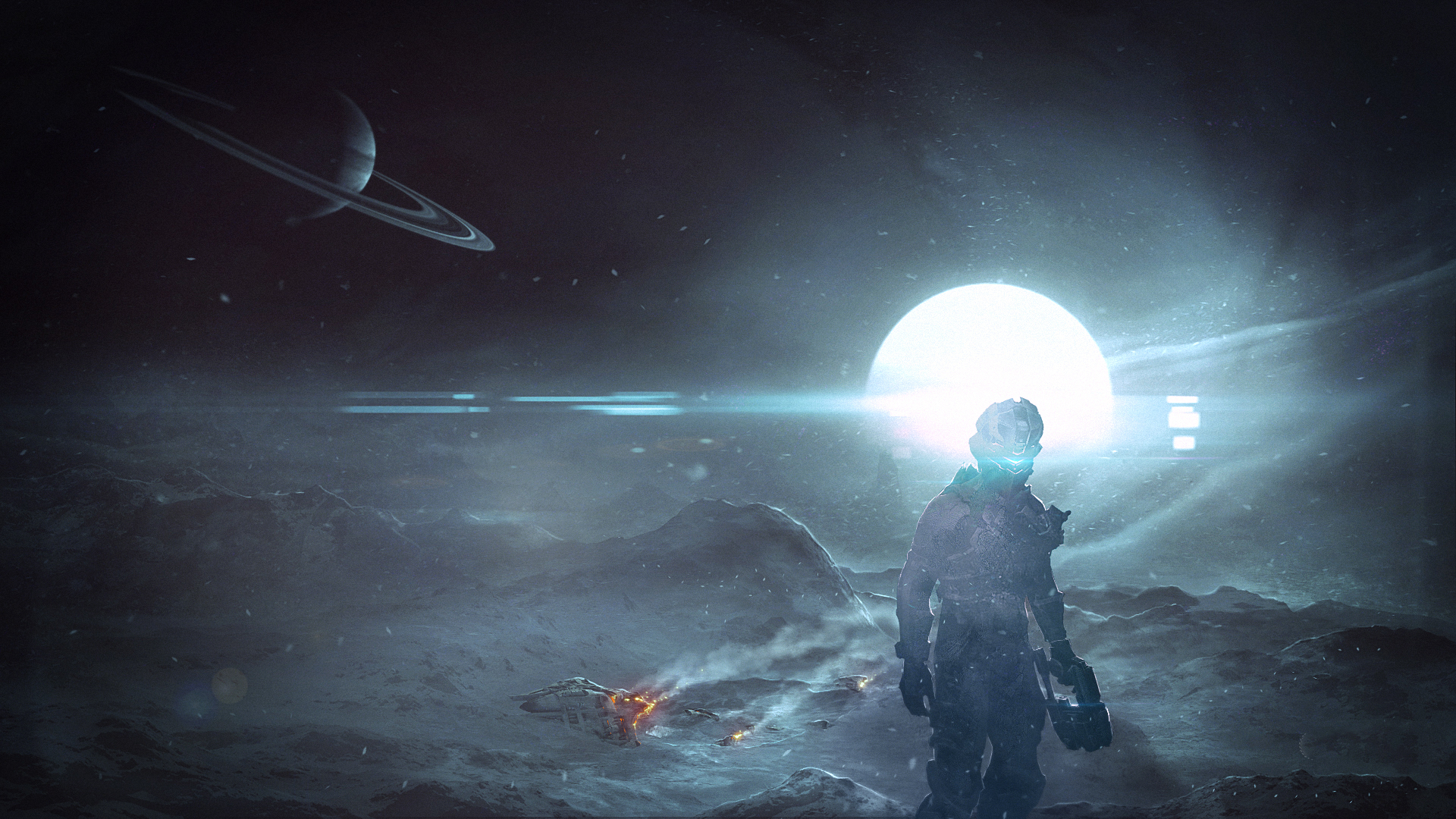 dead-space-shine-satellite-surface-isaac-clarke-1920%C3%971080-wallpaper-wp3404504