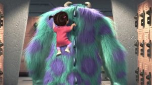 Boo Monsters Inc tapet