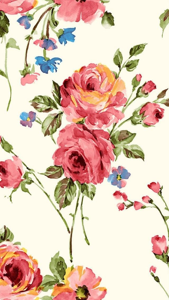 Wallpaper iphone vintage flower
