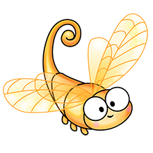 golden-dragonflye-wallpaper-wp3006176