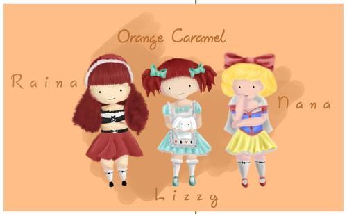orange-Caramel-Fan-art-wallpaper-wp44010214