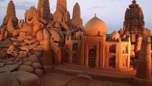 Fond d'écran Sand Art