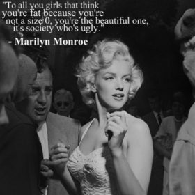 Marilyn Monroe Quotes wallpaper
