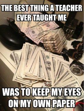 Money Over Bitches wallpaper