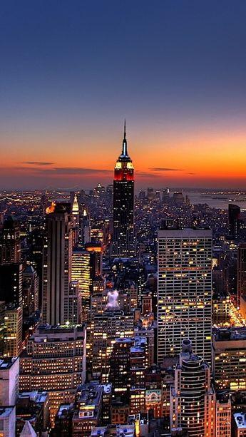 1080x1920-new-york-night-skyscrapers-top-view-wallpaper-wp360632