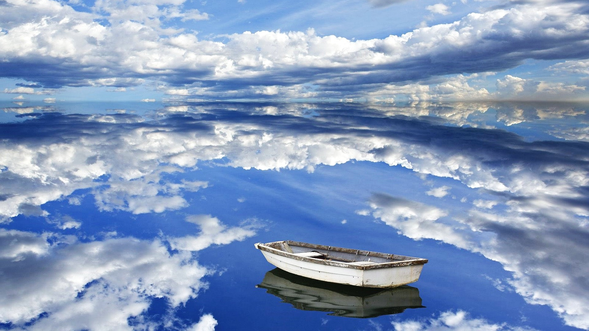 1920x1080-sky-clouds-reflection-boat-wallpaper-wp380932