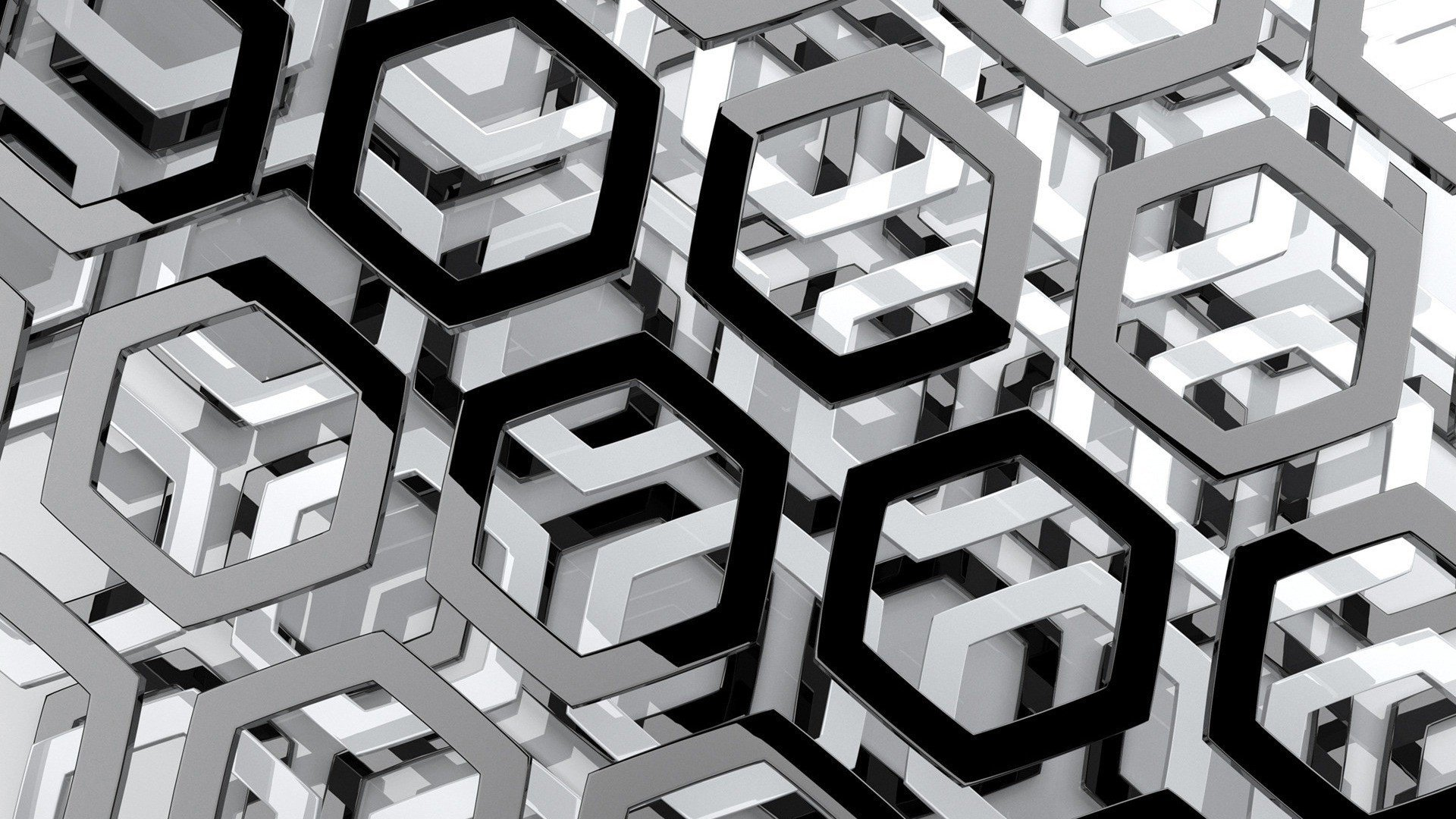 Abstract-black-and-white-hexagons-monochrome-1920x1080-UP-wallpaper-wpc9001999
