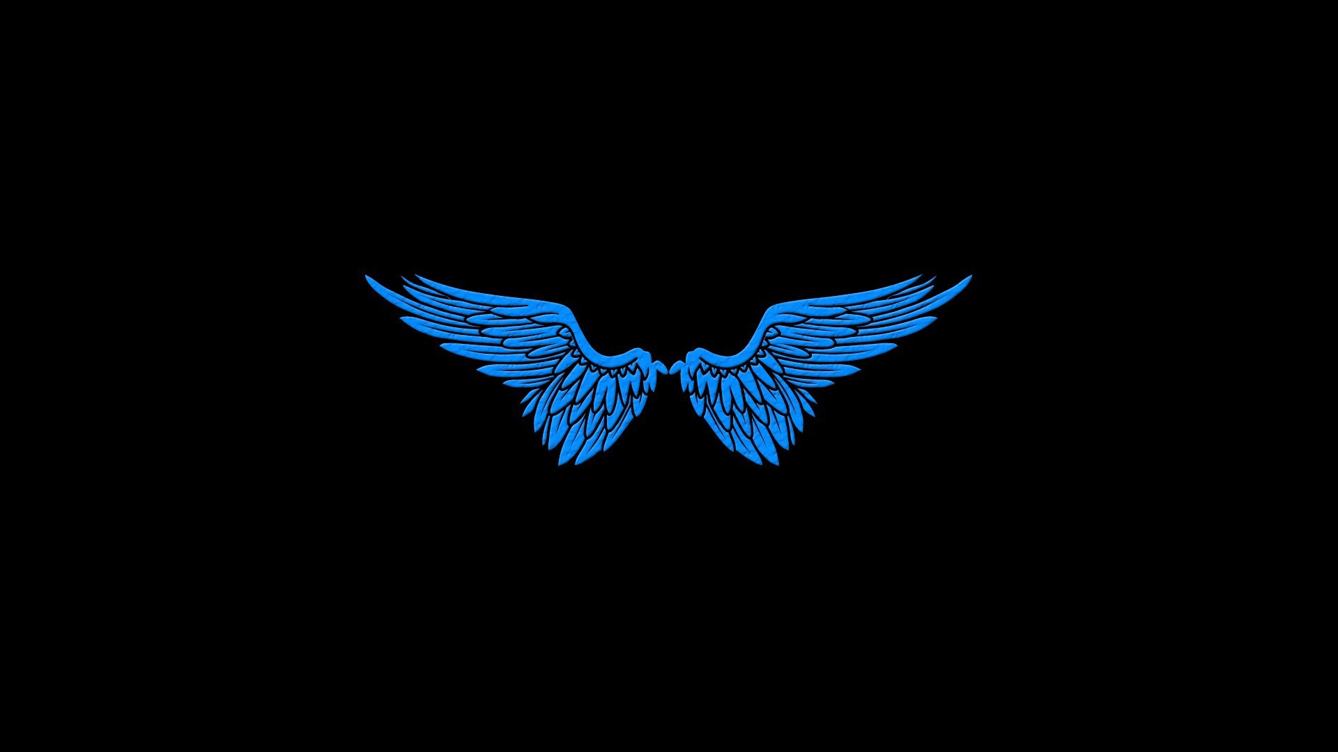 Angels-blue-wings-black-minimalistic-simple-1920x1080-blue-wings-black-minimalistic-simple-v-wallpaper-wpc9002220