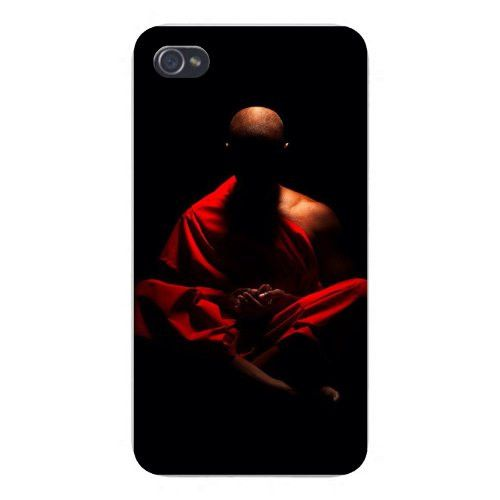 Apple-Iphone-Custom-Case-s-Snap-on-Buddhist-Monk-Meditating-in-Shadows-wallpaper-wp3802492