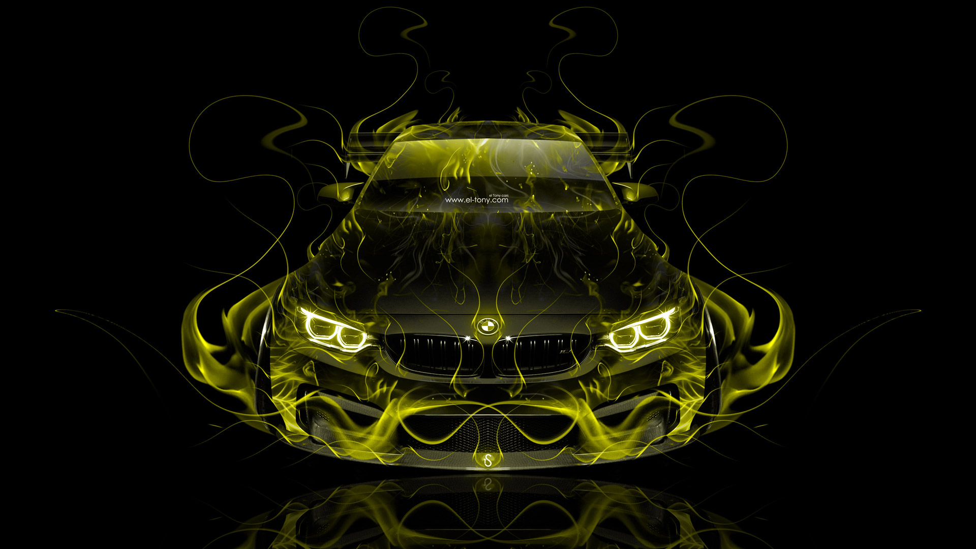 BMW-M-Tuning-FrontUp-Super-Fire-Flame-Abstract-Car-Yellow-Black-Colors-HD-design-by-wallpaper-wp3603616