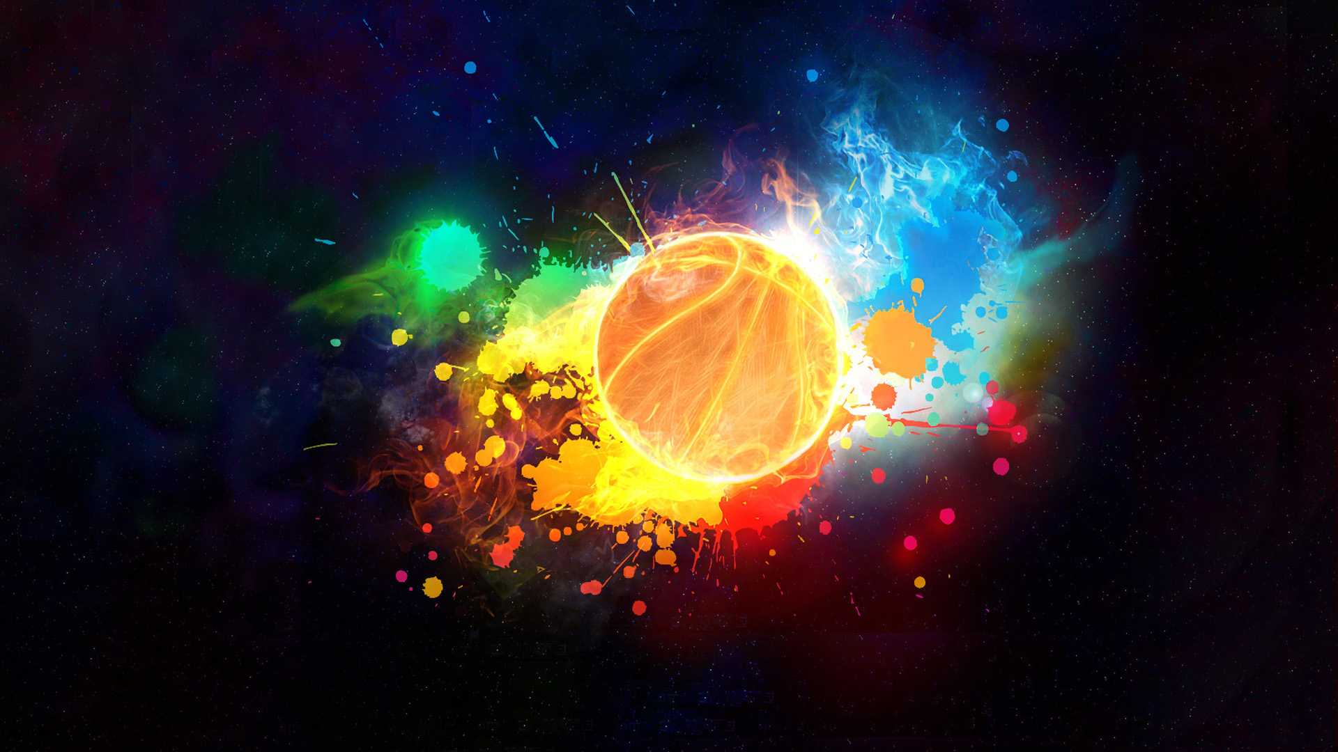 Basketball-cool-colorful-wallpaper-wpc9202784