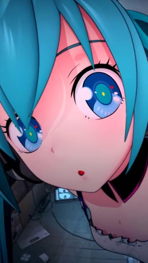 Big-Eyes-Cute-Anime-Girl-iPhone-wallpaper-wp3803161