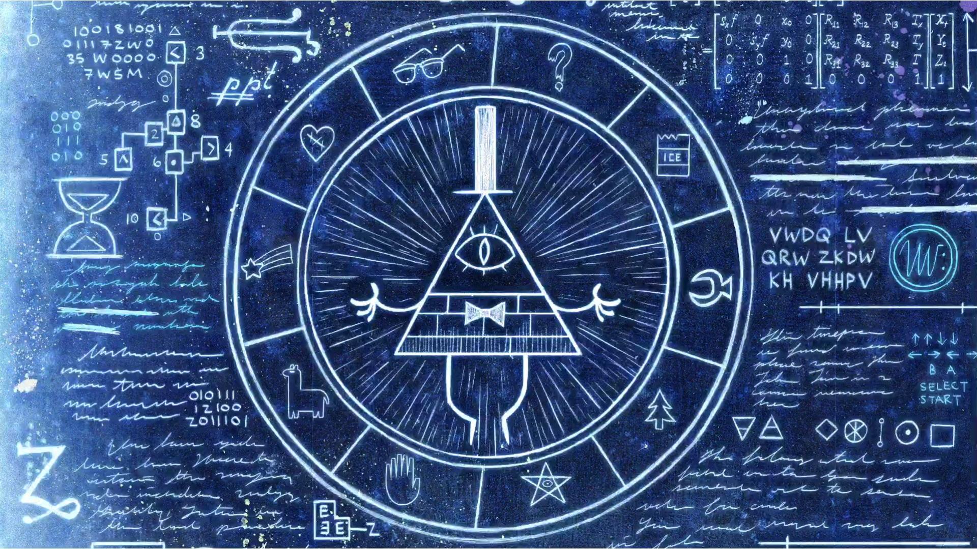 Bill-Cipher-Wheel-wallpaper-wp3603334