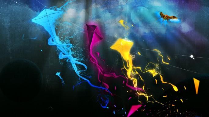 Blue-Violet-Kites-wallpaper-wpc9003061