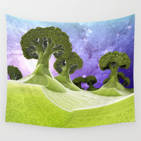 Broccoli-Planet-Wall-Tapestry-Available-in-three-distinct-sizes-our-Wall-Tapestries-are-m-wallpaper-wp36086