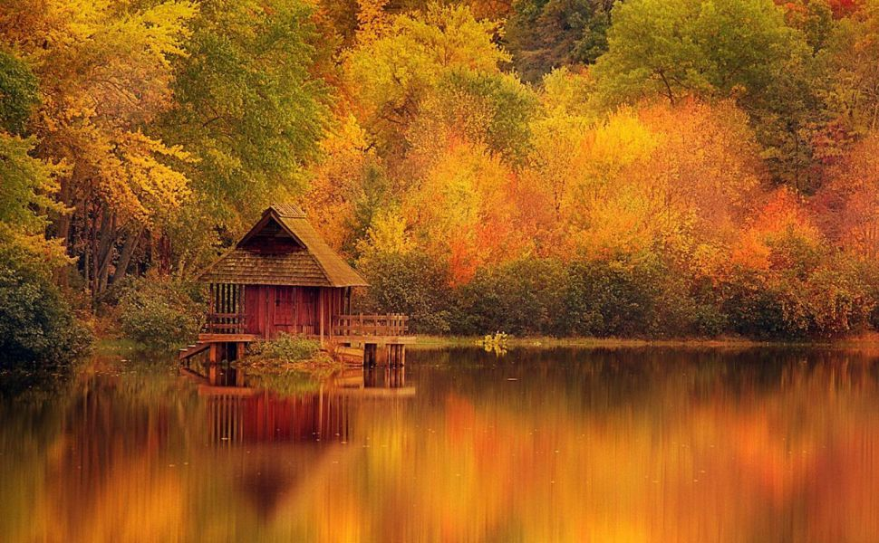 Cabin-on-the-lake-HD-wallpaper-wpc5803137