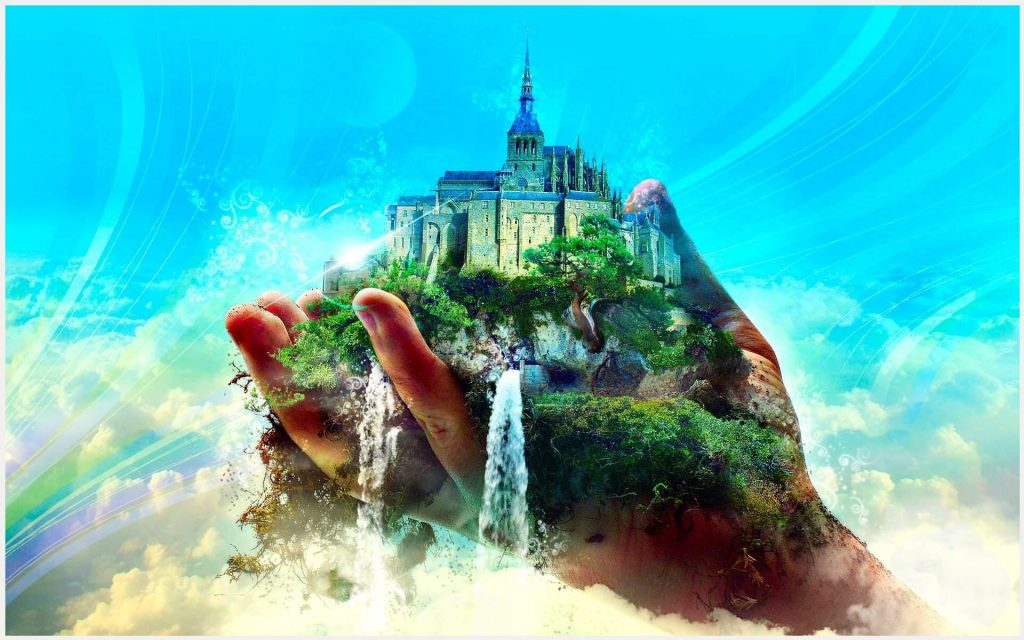 Castle-Town-In-Hand-Fantasy-castle-town-in-hand-fantasy-1080p-castle-town-in-wallpaper-wp3803660