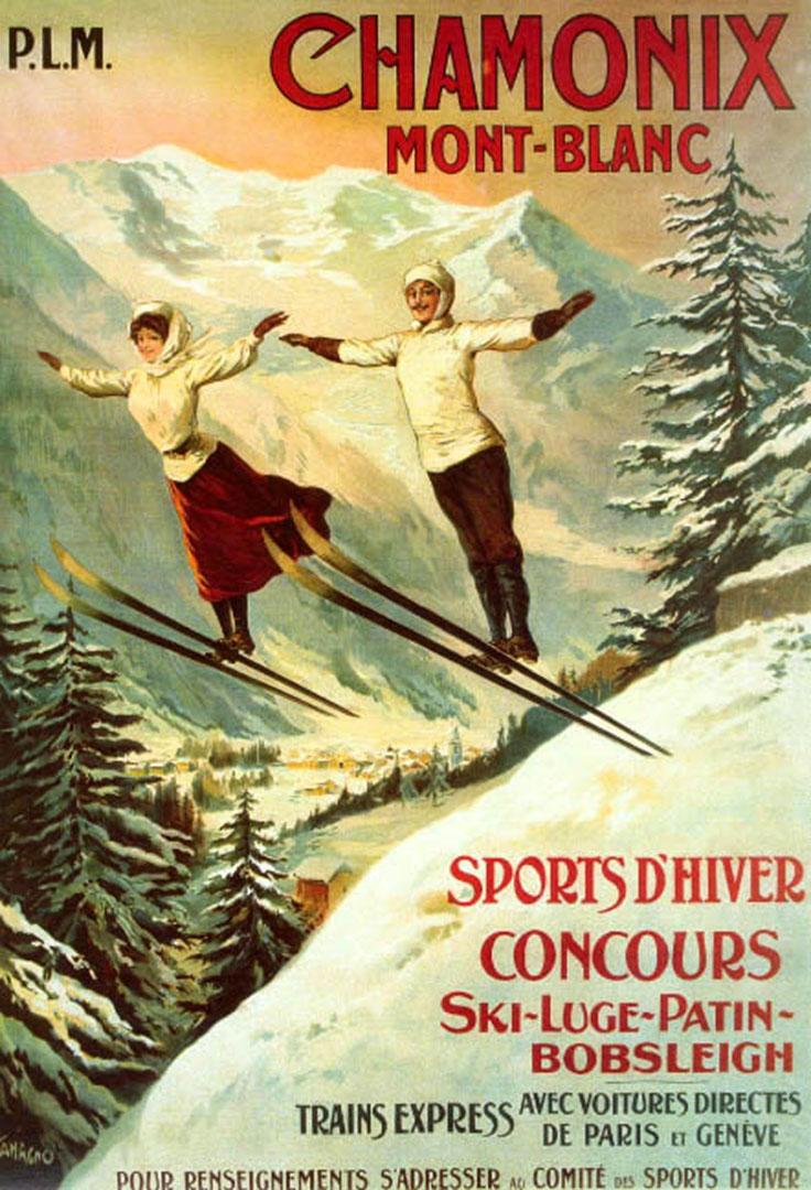 Chamonix-vintage-ski-poster-wallpaper-wpc5803351