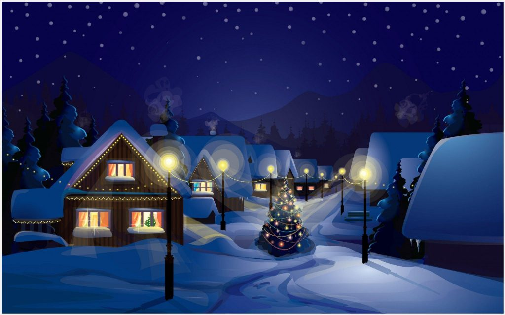Christmas-Village-Painting-christmas-village-painting-1080p-christmas-village-wallpaper-wpc9003555