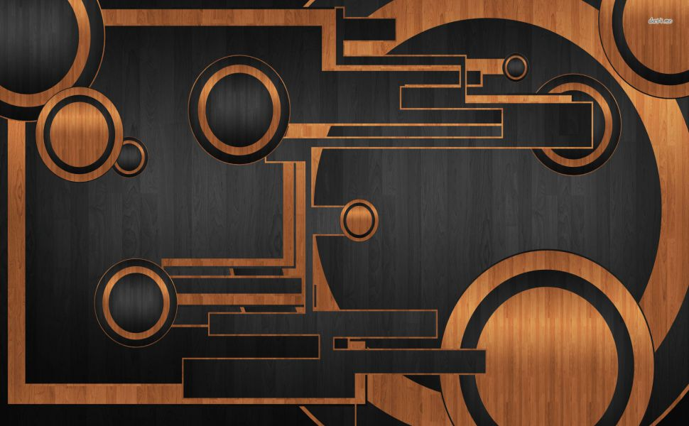 Circles-and-squares-on-wood-texture-HD-wallpaper-wpc9003580