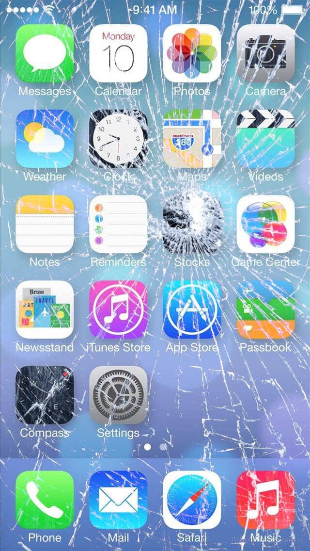 Collection-of-Cracked-Screen-Iphone-on-HD-%C3%97-Cracked-Screen-I-wallpaper-wpc9203694