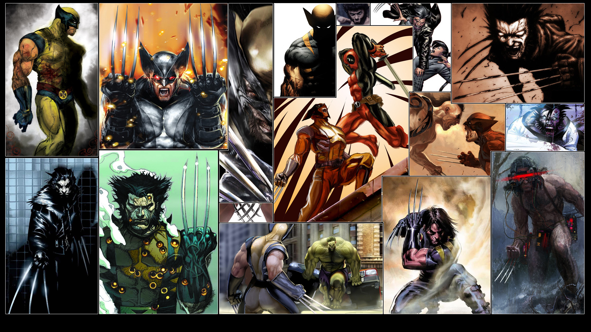 Comics-Wolverine-Deadpool-Hulk-wallpaper-wpc5803603