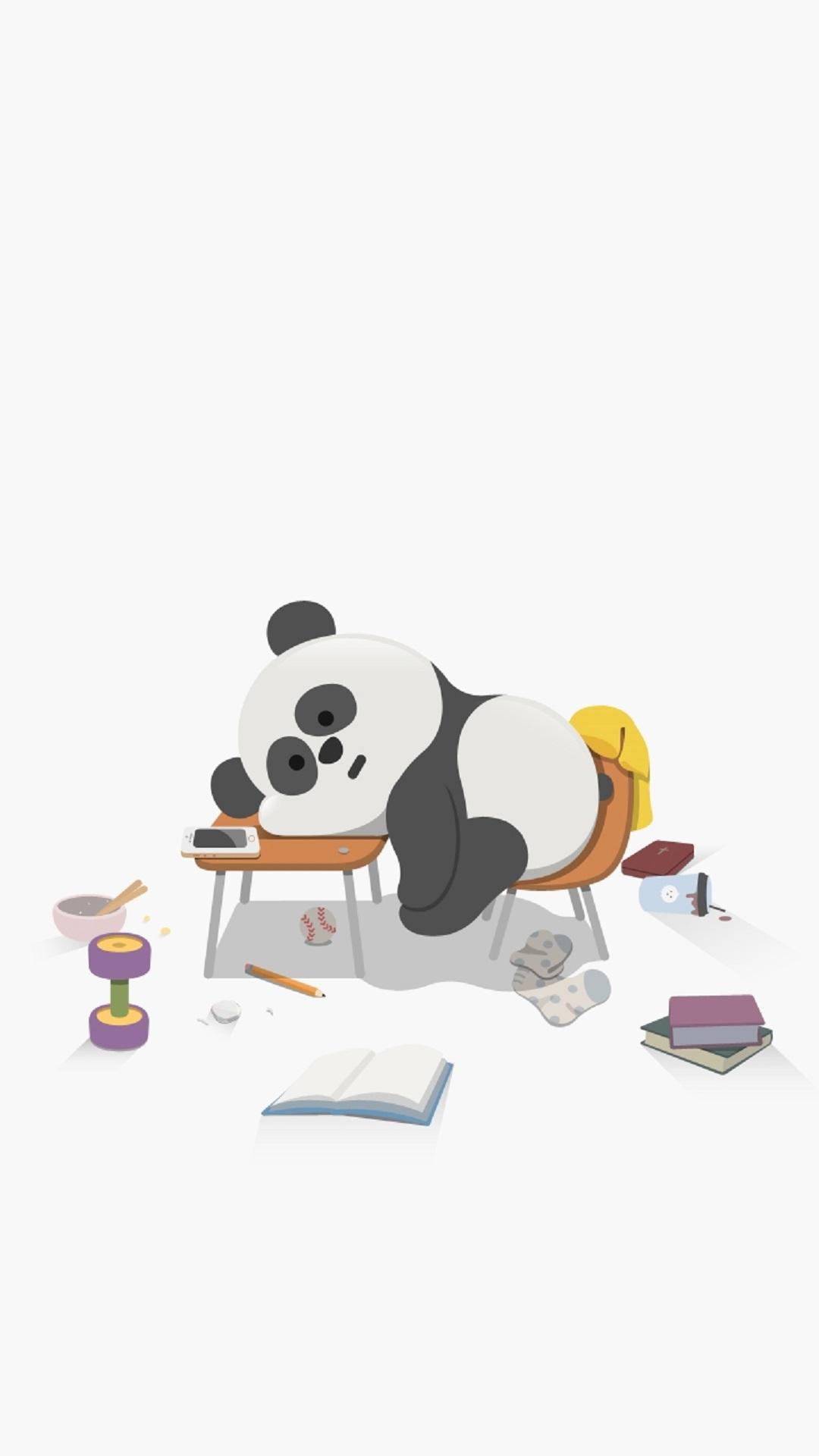 Cute-Sleepy-Panda-Cute-Animal-iPhone-Tap-to-see-more-high-quality-iphone-ba-wallpaper-wp3604487