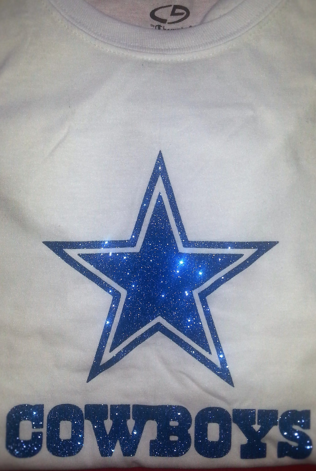 Dallas-Cowboys-Glitter-Bling-Logo-T-Shirt-Iron-on-Custom-Champions-Super-Bowl-Boys-Girls-by-SharisV-wallpaper-wp3804330
