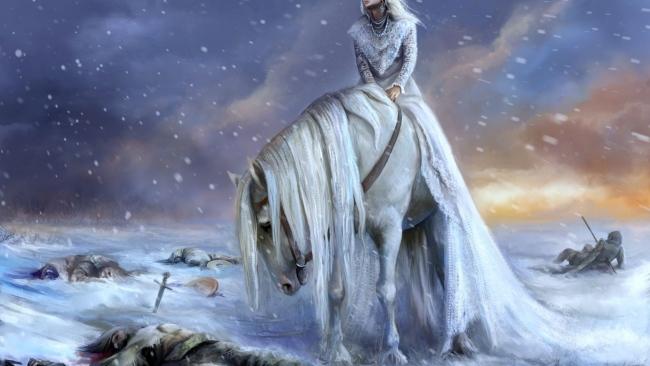 Download-1920x1080-HD-white-horse-princess-winter-battlefield-blizzard-Desktop-Background-wallpaper-wpc5804248