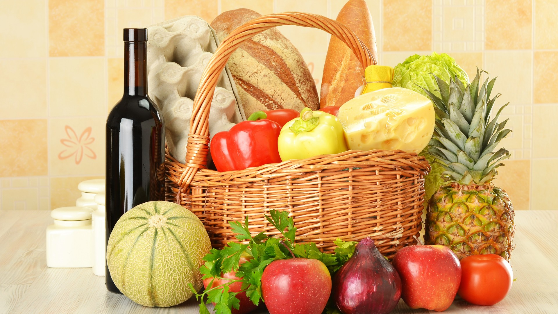 Download-basket-vegetables-fruit-a-bottle-of-wine-red-eggs-bread-cheese-food-resolu-wallpaper-wp3804810