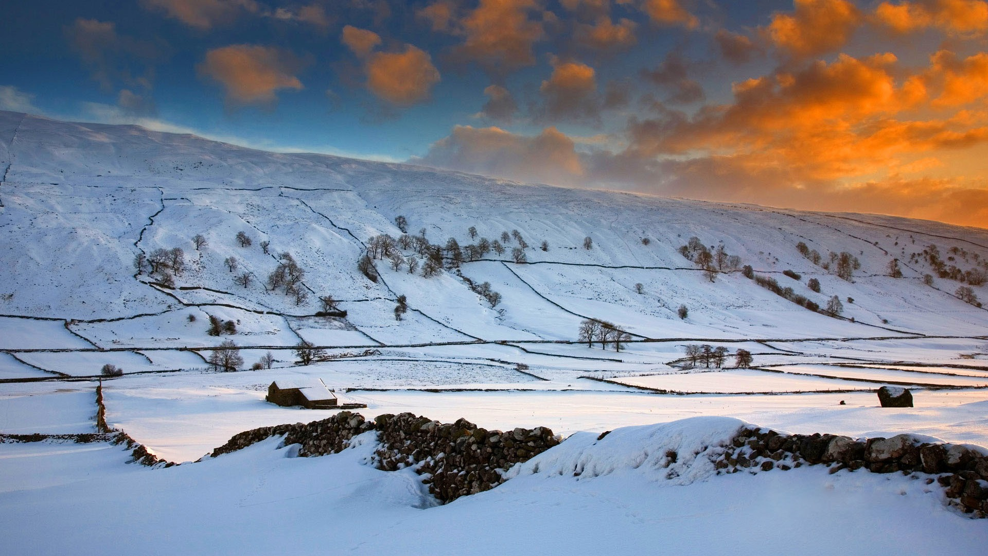 Download-winter-field-the-sky-clouds-snow-trees-sunset-hills-England-glow-sectio-wallpaper-wp3605134