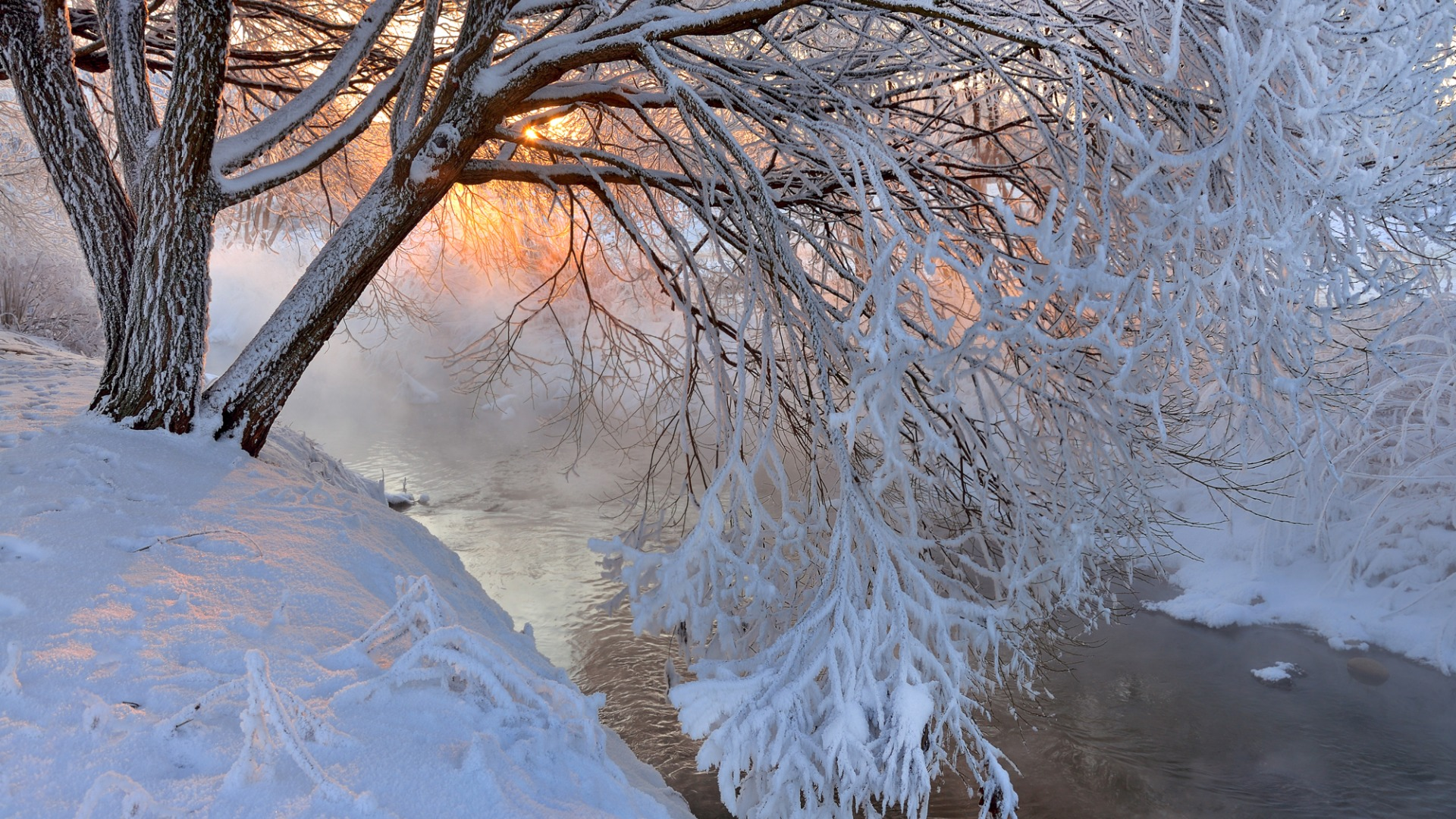 Download-winter-trees-landscape-sunset-mountains-nature-river-Snow-section-wallpaper-wp3605142