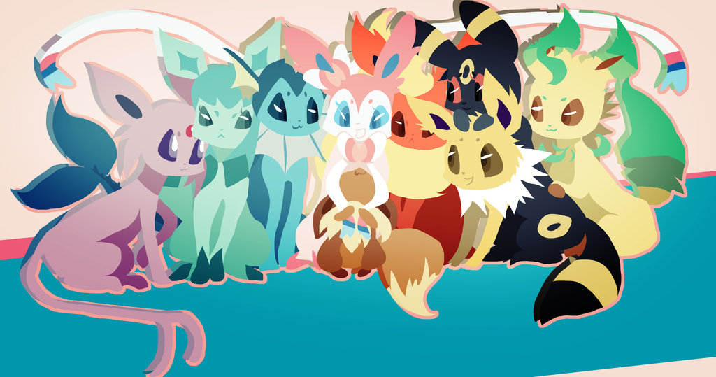 Eevee-Family-by-musicwitme-deviantart-com-on-DeviantArt-wallpaper-wpc5804523