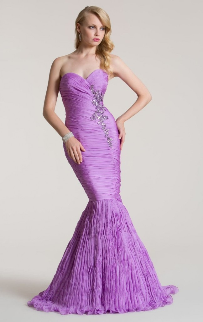 Empire-Waist-Purple-Mermaid-Fishtail-Trumpet-Formal-Bridal-Evening-Dresses-Gown-luxury-prom-dress-wallpaper-wpc9004701