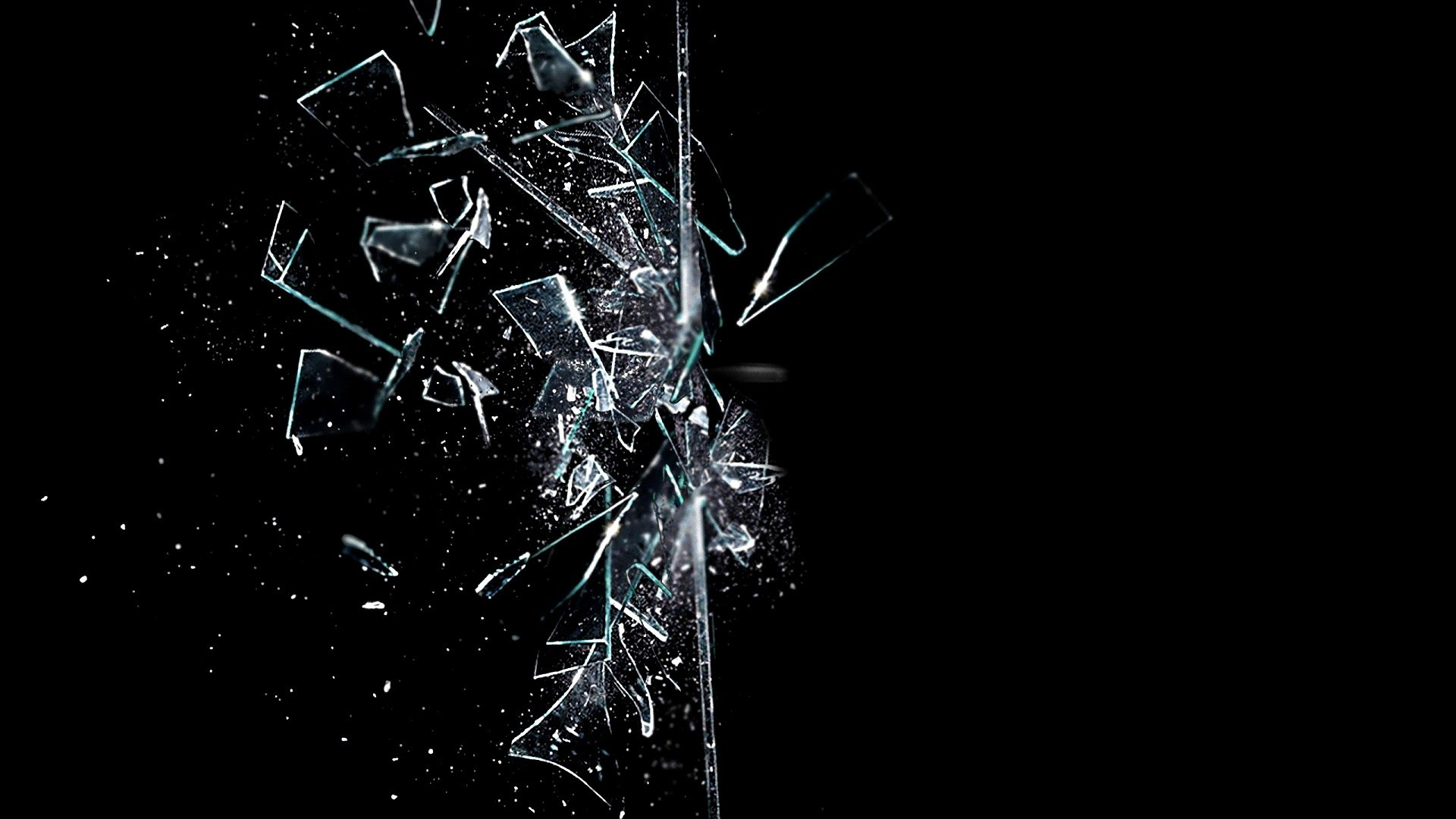 cracked glass image with transparency alpha f  Adobe