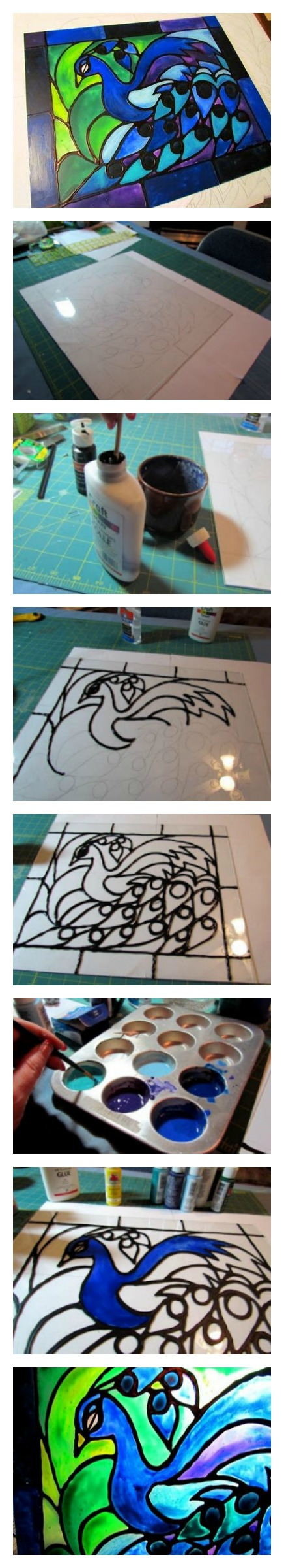 Faux-stained-glass-created-from-acrylic-paint-and-school-glue-wallpaper-wp3605501