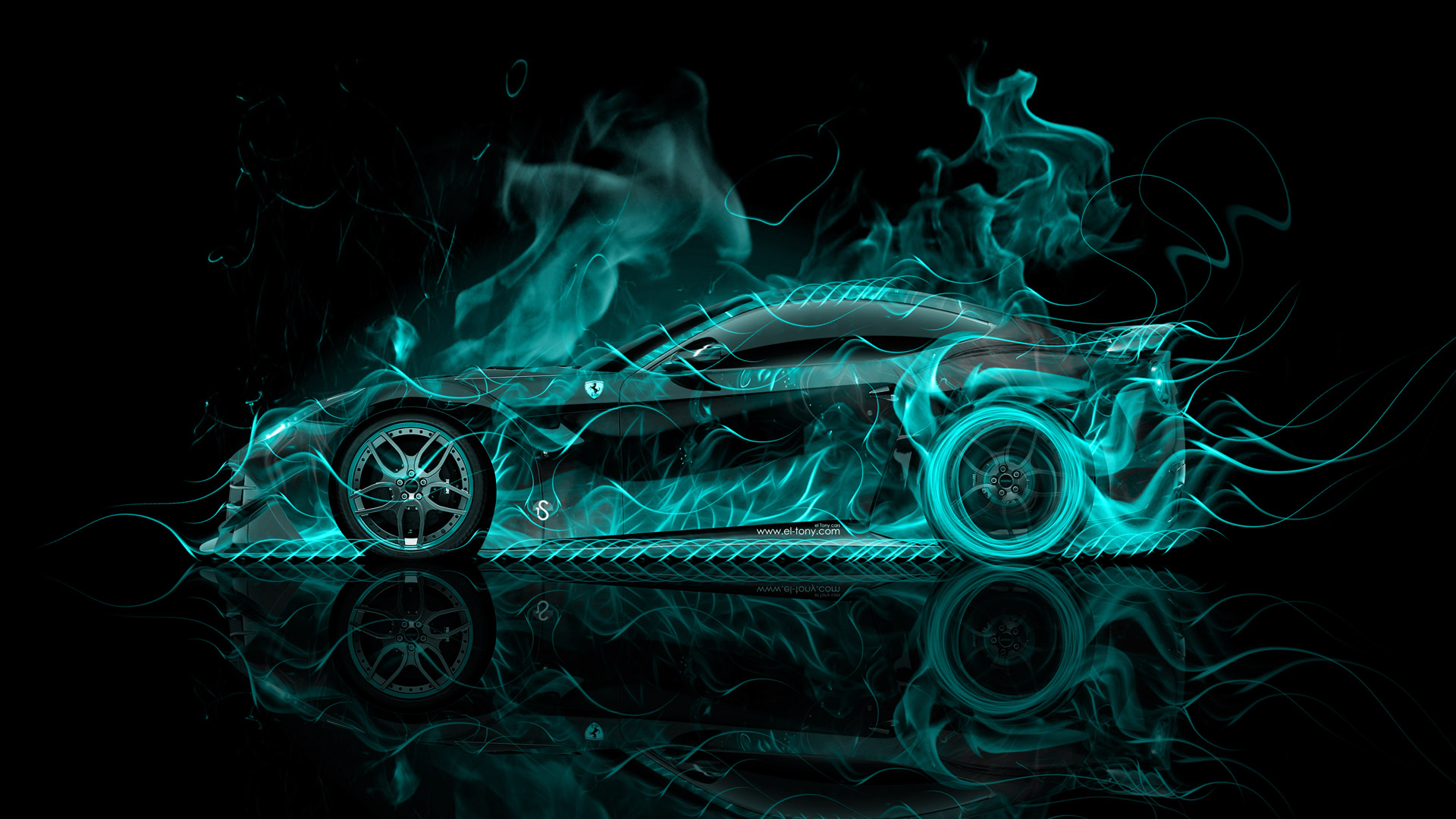 Ferrari-F-Berlinetta-Side-Super-Fire-Abstract-Car-Azure-Black-Colors-HD-design-by-wallpaper-wp3605537