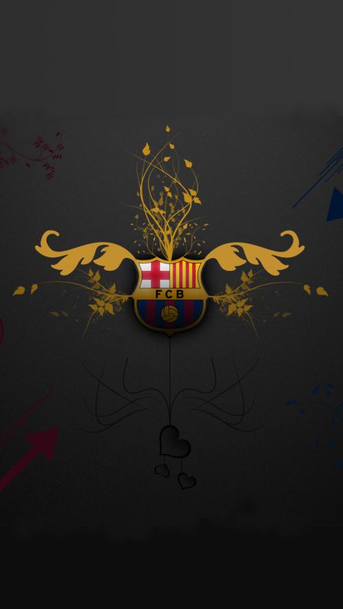 File-attachment-for-Apple-iPhone-Plus-HD-Artistic-Barcelona-FC-Logo-in-dark-background-wallpaper-wpc9004925