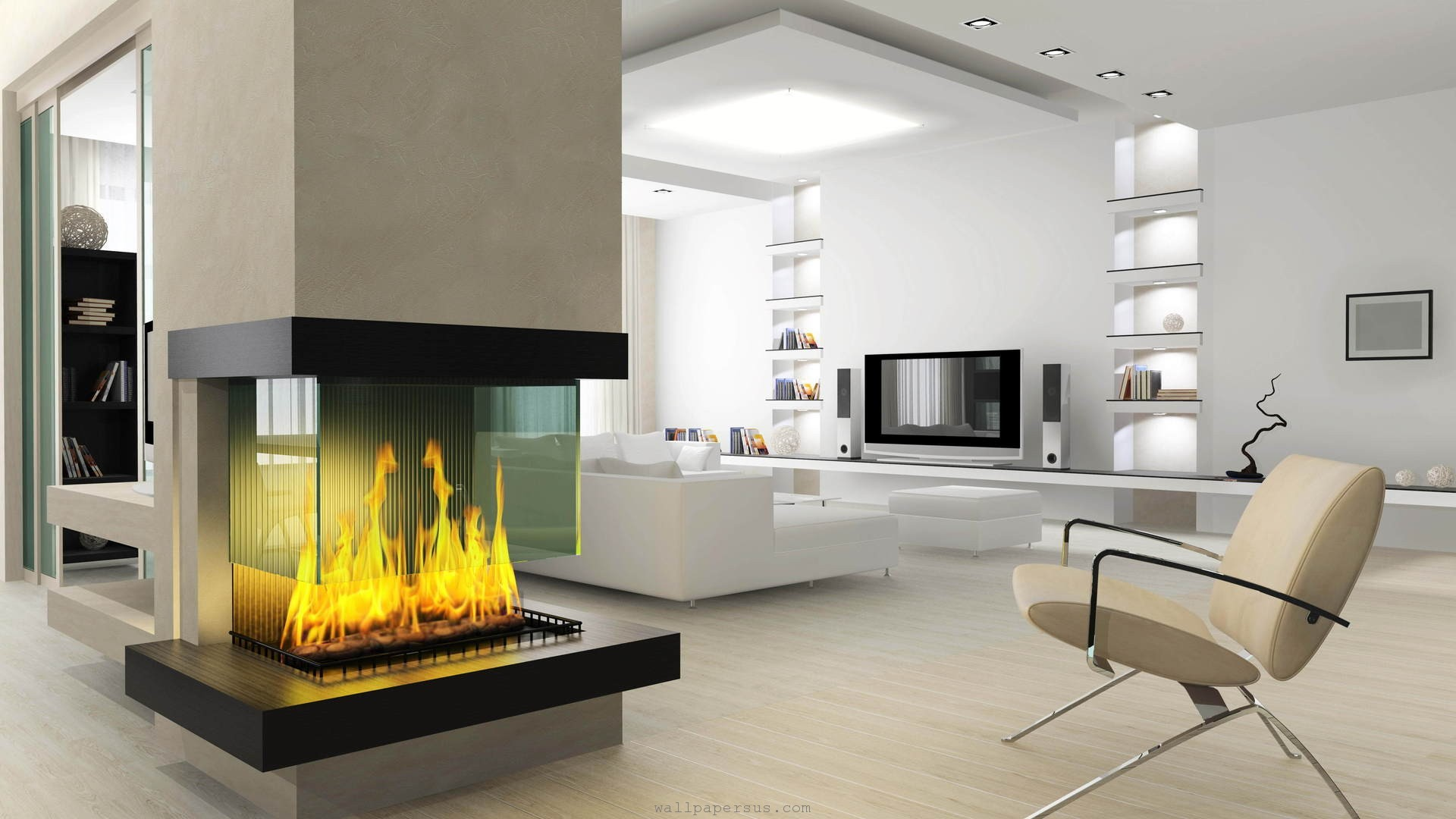 Fireplace-in-Living-Room-wallpaper-wp3605576
