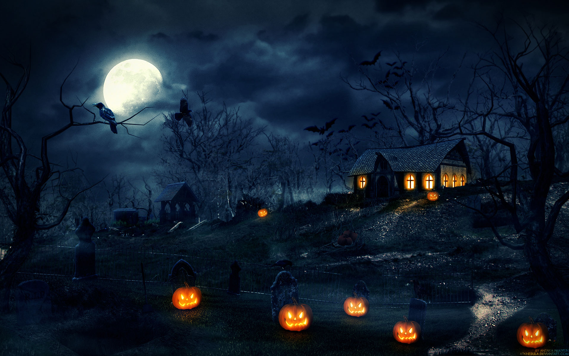 Free-Scary-Halloween-Backgrounds-Collection-wallpaper-wpc9005277