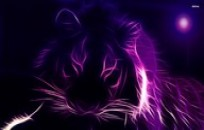 Glowing-Tiger-Outline-wallpaper-wp3606211