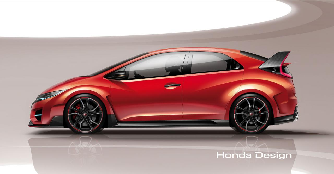 Honda Civic Type R Concept Th Mar Wallpaper
