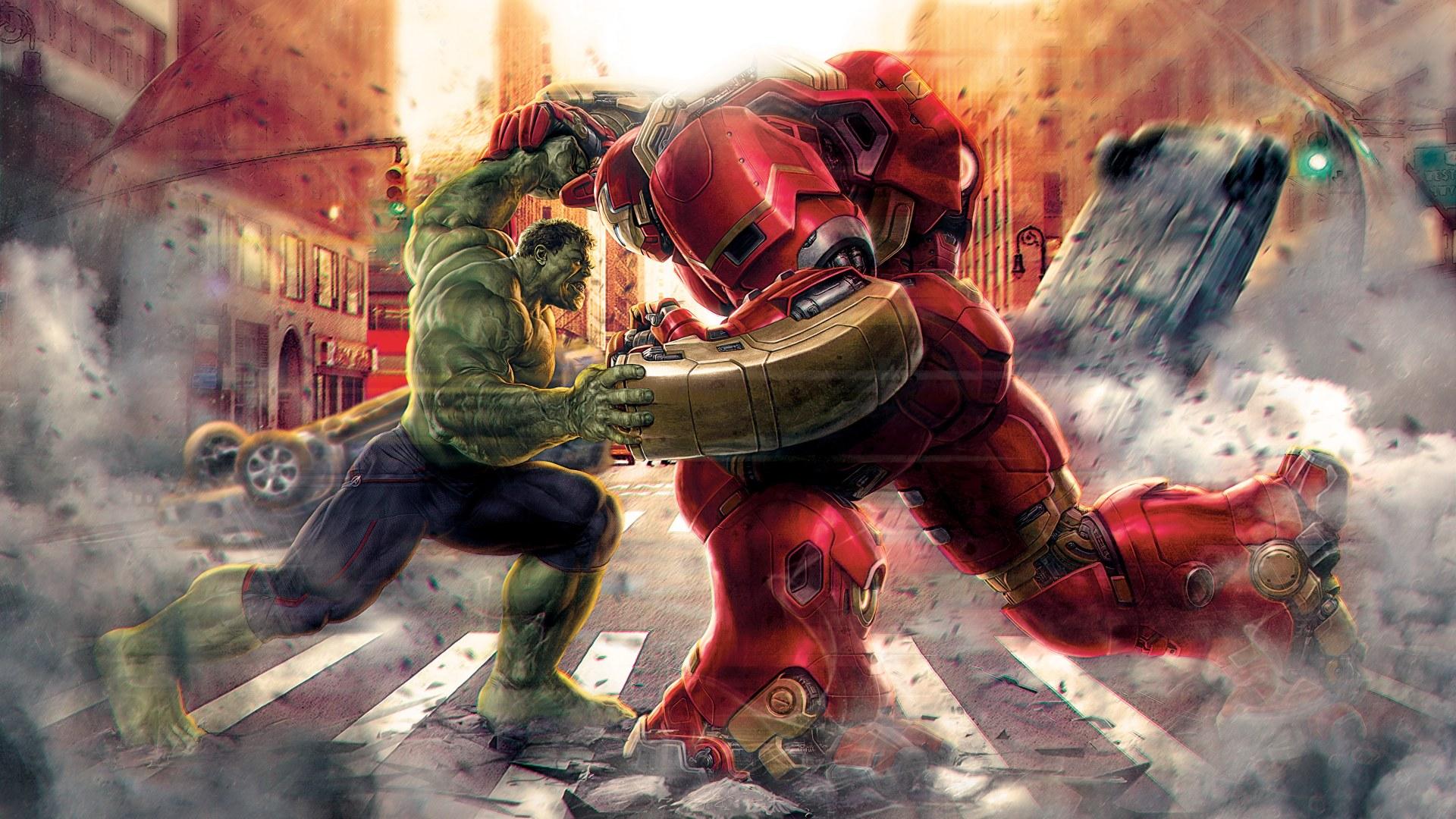 Hulk-vs-Hulkbuster-Avengers-Age-of-Ultron-by-Steeven-on-Deviantart-1920%C3%971080-wallpaper-wpc5806155