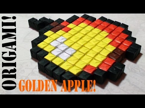 In-this-tutorial-I-will-show-you-how-to-make-an-origami-Minecraft-Golden-Apple-Enjoy-D-Tutori-wallpaper-wpc9006515